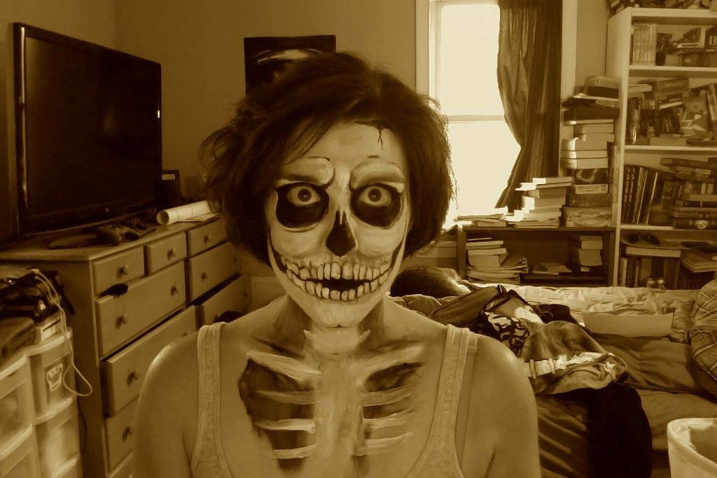 10 Creepy and Cool DIY Halloween Makeup Ideas