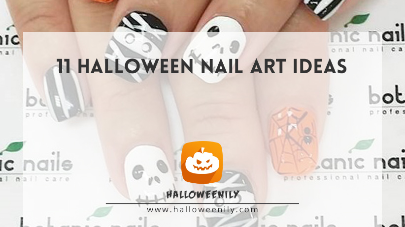 11 Halloween Nail Art Ideas